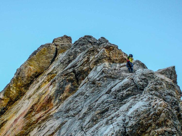 Mit Der Bergsteigerschule Zugspitze Am Jubilaeumsgrat