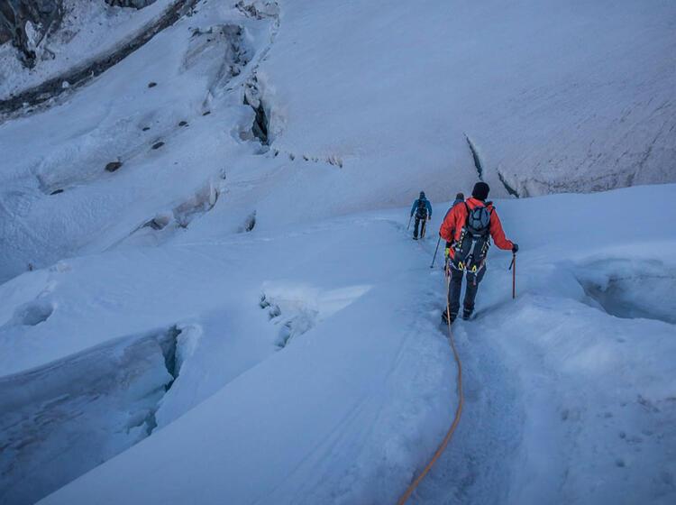 Monterosa Gletscher Hochtour