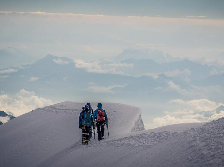 Monterosa Hochtouren Woche Mit Bergfuehrer