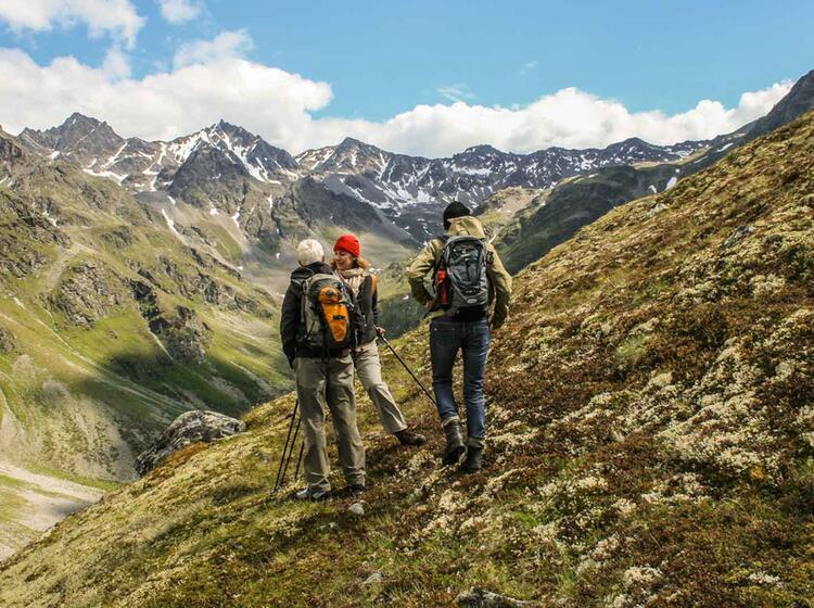 Oetztal Wanderwoche Mit Bergfuehrer