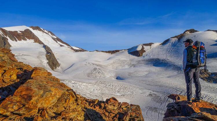 Oetztaler Gletscher Hochtour Zur Wildspitze