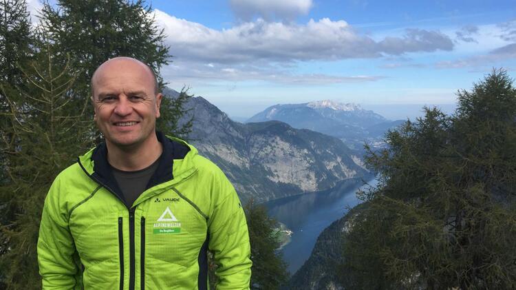 Peter Kohl Ist Bergwanderfuehrer Bei Alpine Welten