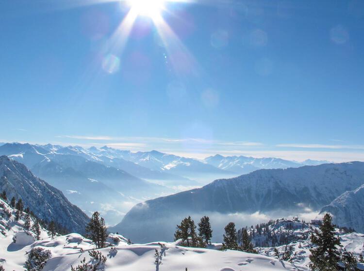 Rofan Gebirge Am Achensee Der Ideale Kursstandort Fuer Skitourenkurs