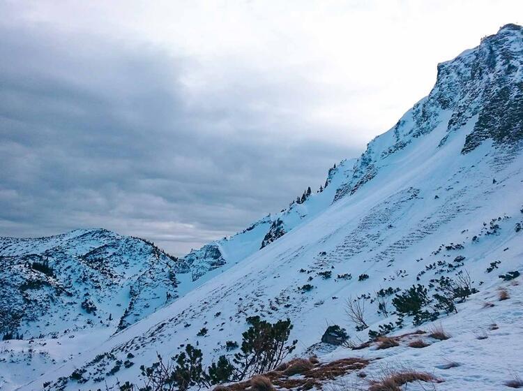 Schneeschuhtouren Im Winter Am Spitzingsee