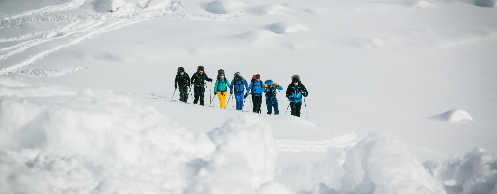 Schneeschuhwandern in der Silvretta