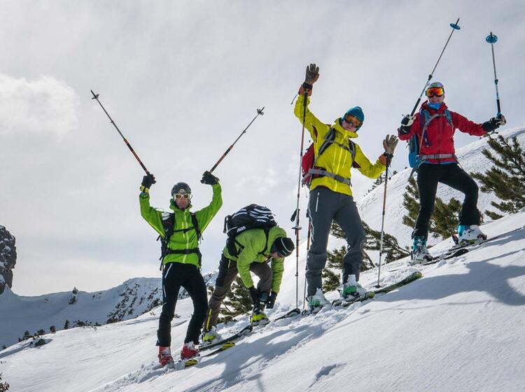 Ski Touren Im Lechtal Mit Fuehrer
