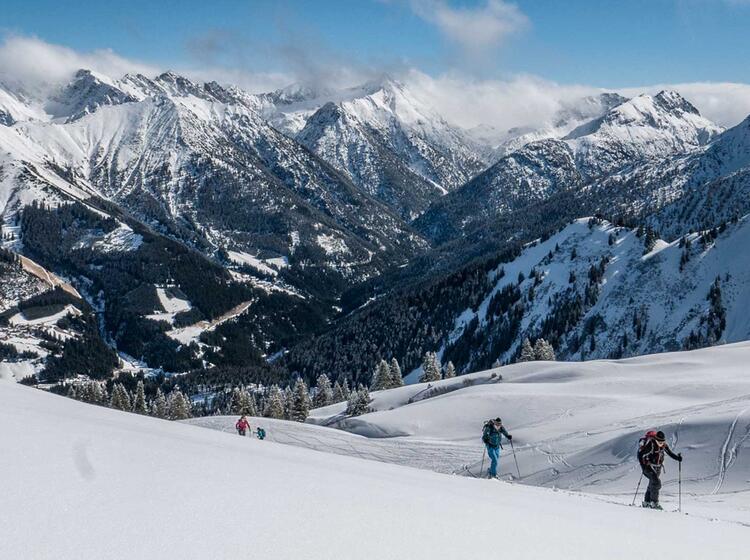 Skitour Galtjoch Fuehrung Im Lechtal