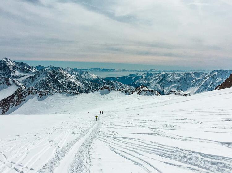 Skitour Im O Tztal Venter Runde