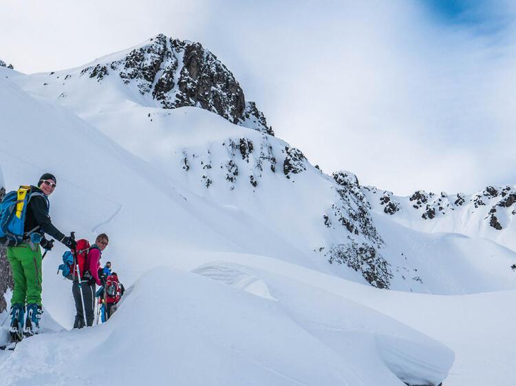 Skitour Ins Schafkar In Den Lechtaler Alpen