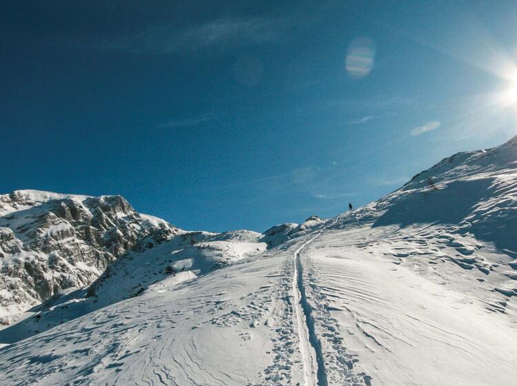 Skitour Zur Alpspitze In Garmisch