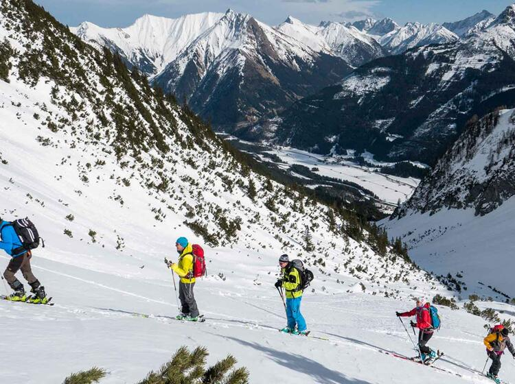 Skitouren Im Lechtaler Hageler Kar