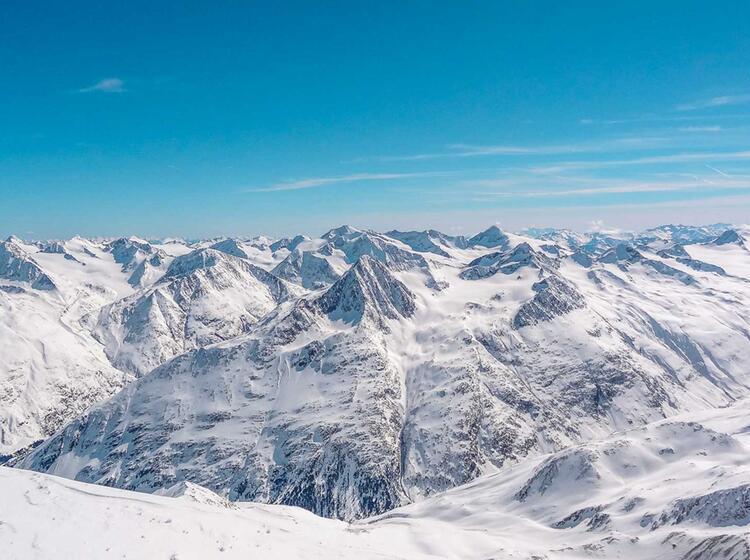 Skitouren Im Oetztal Mit Der Wildspitze