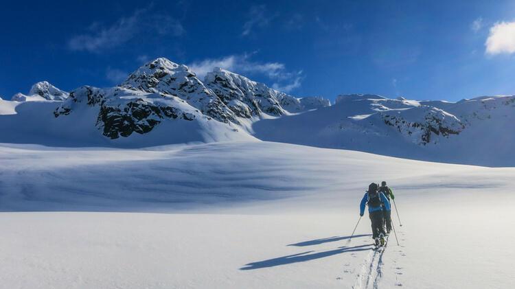 Skitouren Mit Bergfuehrer Sebastian Conrad