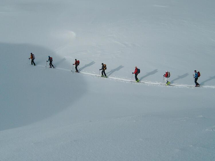 Skitouren Rund Um Die Zugspitze