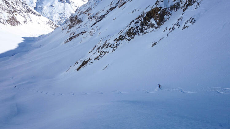 Skitouren Und Freeriden Mit Bergfuehrer Nils Beste