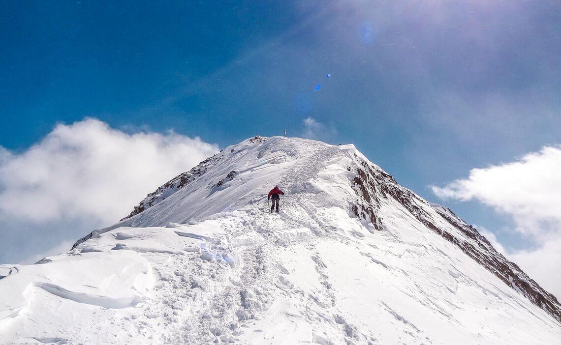 Skitouren Zur Wildspitze Im Oetztal