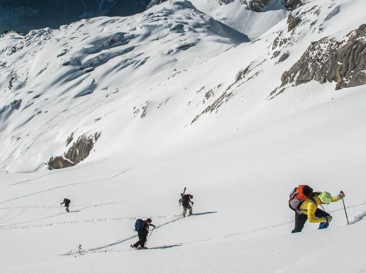 Skitourenkurs Und Skitouren In Garmisch