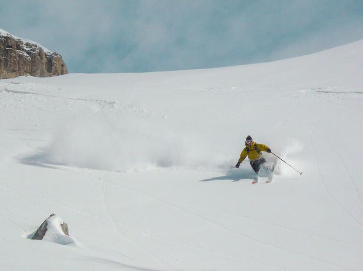 Skitourenwoche In Der Fanes