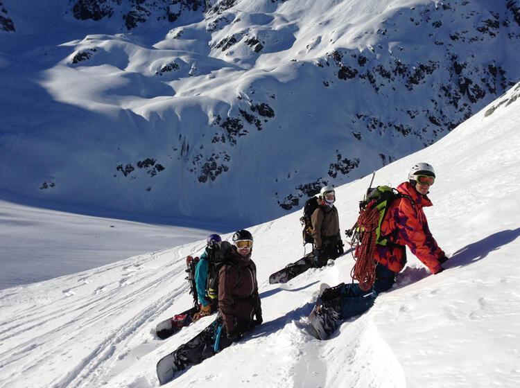 Snowboard Skitouren Fuer Einsteiger