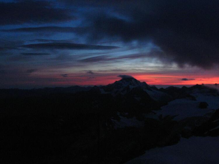 Sonnenuntergang In Der Bernina Gruppe 1