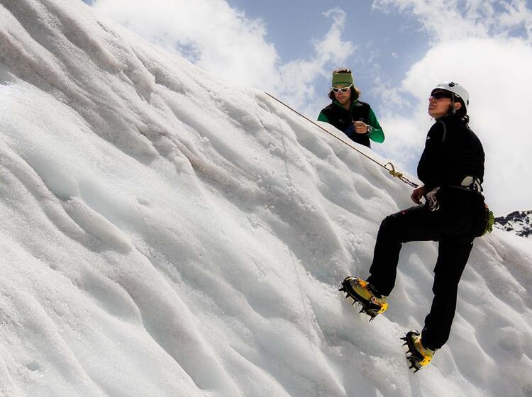 Spaltenbergung Lernen Am Gletscherkurs