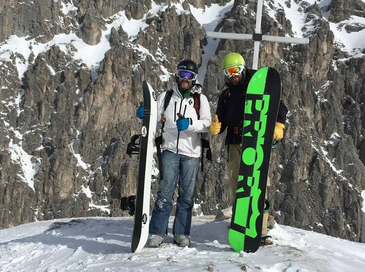 Splitboard Kurs Garmisch Partenkirchen