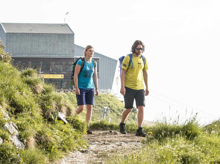 Start Zur Alpspitze Ferrata Ist An Der Alpspitzbahn