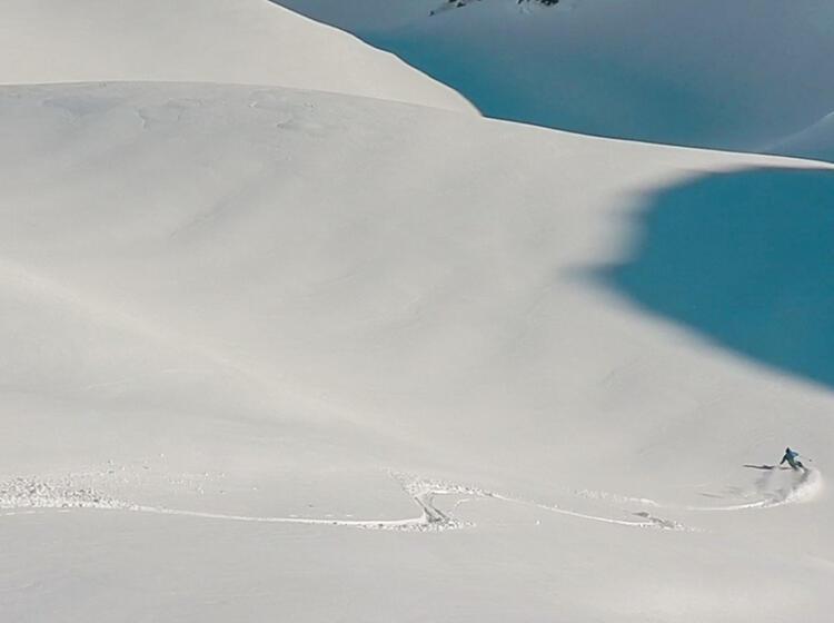 Tiefschnee Auf Der Lavarella Hu Tte In Der Fanes