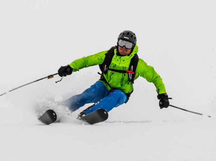 Tiefschneefahren In Der Schweiz