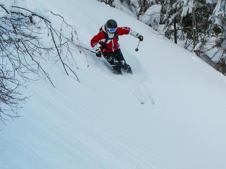 Tiefschneekurse Mit Skilehrer