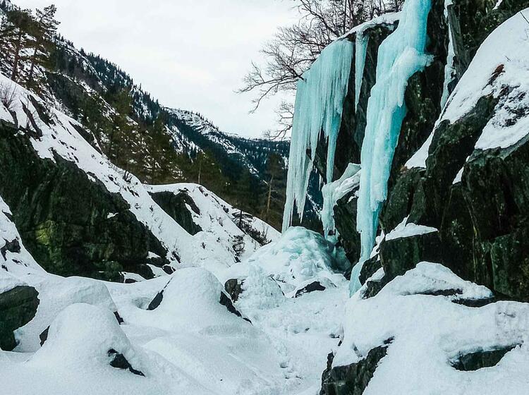 Top Revier Fu R Eisklettern In Norwegen Rjukan