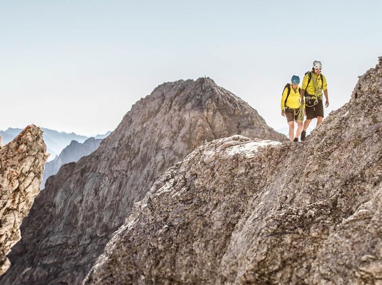 Traumtour Jubilaeumsgrat Zugspitze