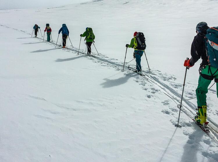 Venter Runde Skihochtour Im Oetztal