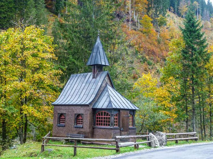 Wandern Am Hoefats Und In Trettnach