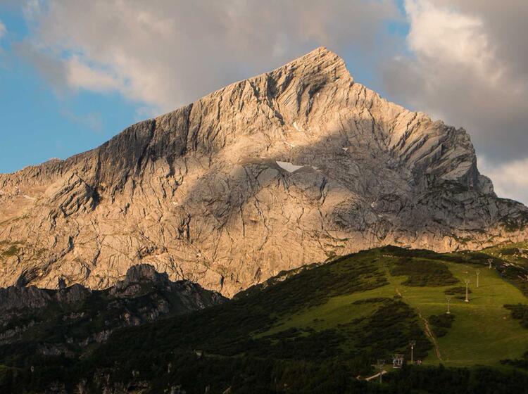 Wandern An Der Alpspitze Bis Zur Zugspitze