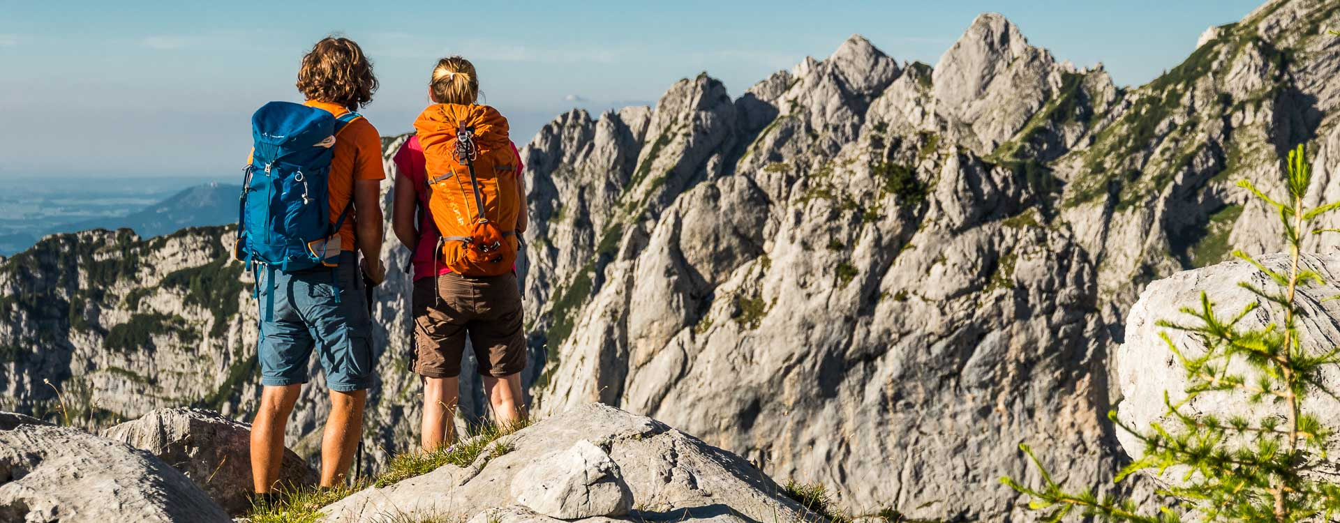 Wandern auf den hohen Goell in Berchtesgaden mit Fuehrer