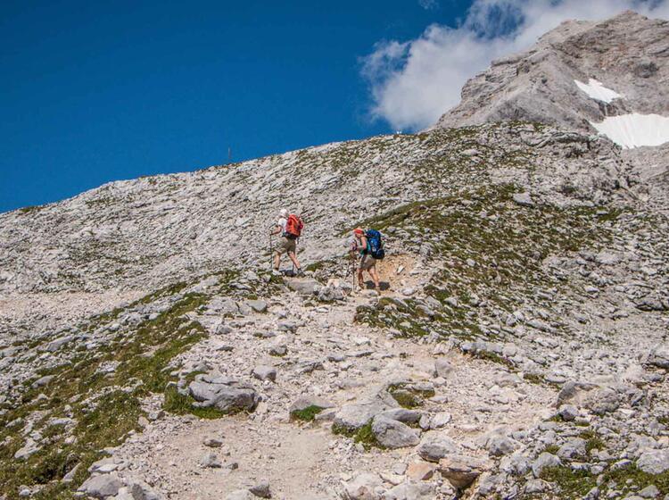 Wandern Im Wetterstein Gebirge