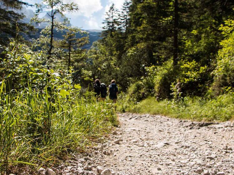 Wandern Im Wetterstein Und In Ehrwald Auf Der Wettersteinrunde