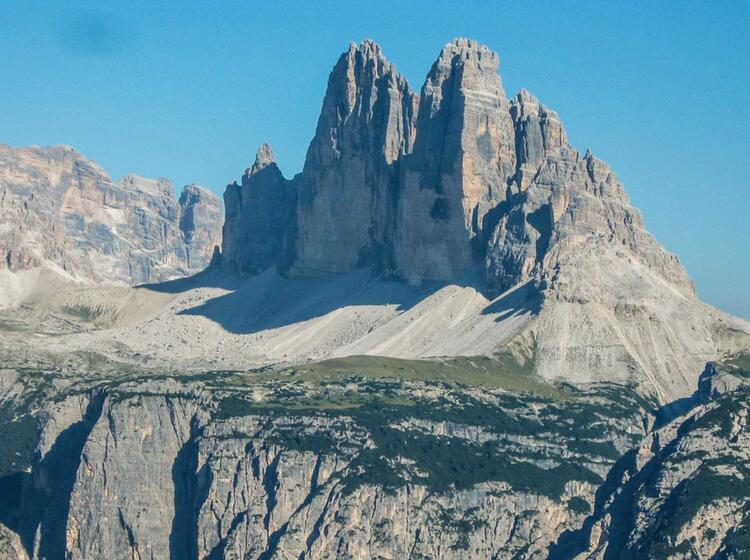 Wanderung Zu Den Drei Zinnen Auf Dem Dolomiten Hoehenweg