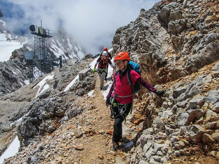 Zugspitze Bergfuehrer In Garmisch