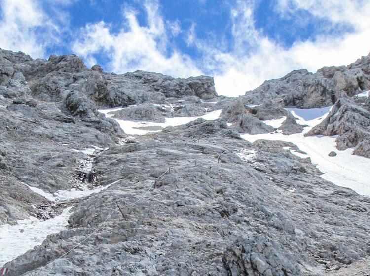 Zugspitzfuehrung Klettersteig Stopselzieher