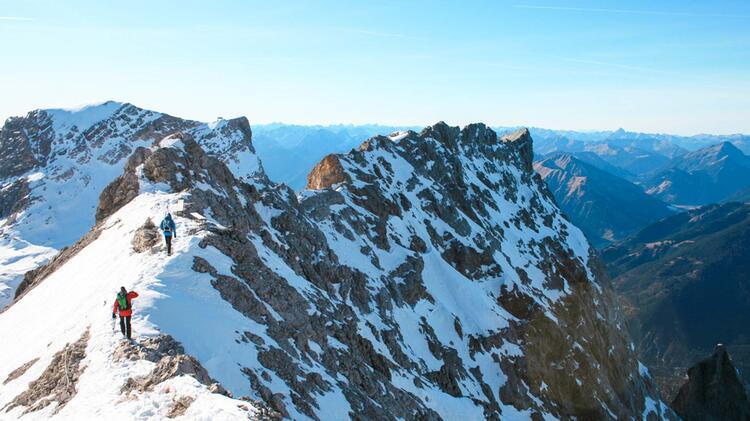Zustieg Zur Neuen Welt Freeride Klassiker In Garmisch